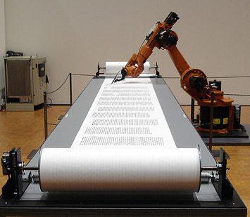 Robots que escriben sobre computación