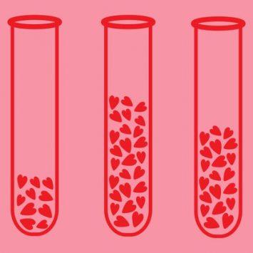 10 tarjetas de amor para los científicos