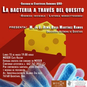 Científicos Anónimos QRO #07: Queso, bacterias y antimicrobianos