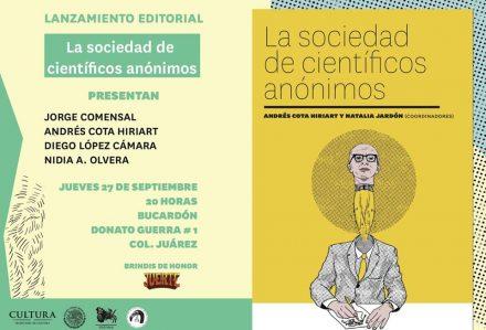 Presentación del libro LA SOCIEDAD DE LOS CIENTÍFICOS ANÓNIMOS