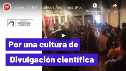 ¡Por una cultura de divulgación científica! Noticias 22